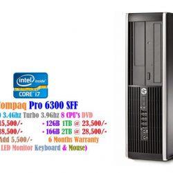 HP Compaq Pro 6300 SFF Desktop Computer - Intel core i7 3770