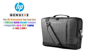 """Carrying Case for 15.6/"""" SLIM ULTRABOOK Black HP BAG LAPTOP Gray F3W15AA"""