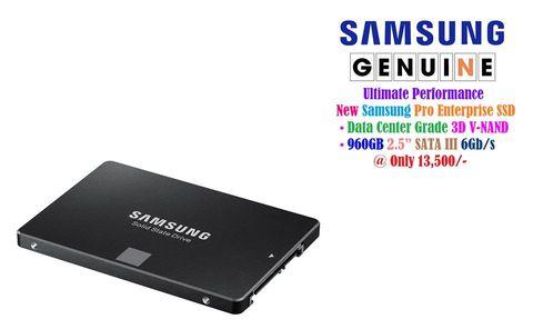 "Samsung Pro 960GB 2.5"" Enterprise SSD"